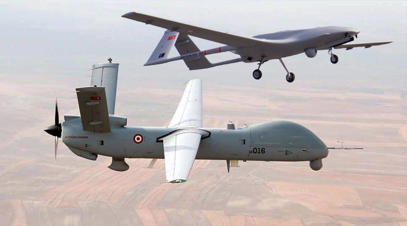 İHA Baykar Bayraktar Akıncı İnsansız Hava Aracı TB2 Anka S Tusaş