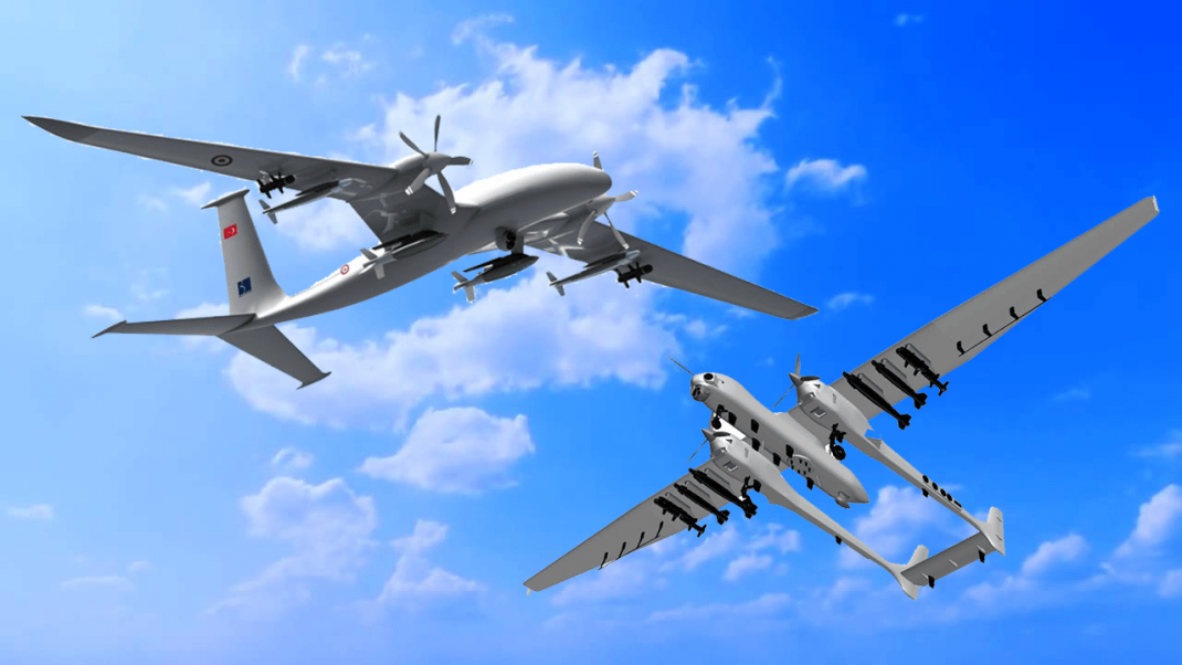 Yeni İHA insansız hava aracı silahlı taarruzi akıncı aksungur