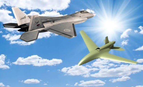 Milli Muharip Uçak ve Bayraktar MİUS İHA