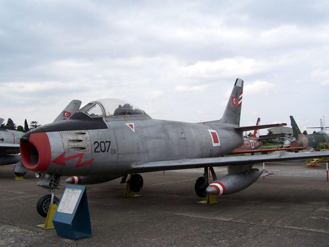 türk hava kuvvetleri f86