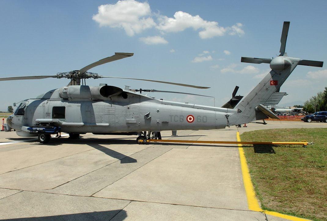gemi konuşlu helikopter deniz karakol helikopteri s-70 seahawk helikopteri