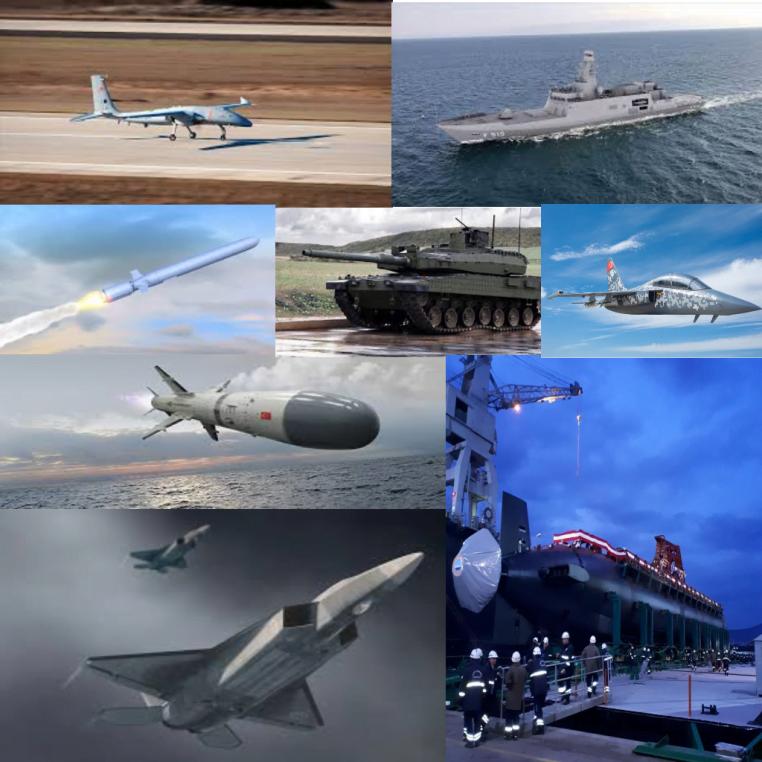devam eden turk savunma sanayi projeleri fuze gemi ucak motor savunma sanayi videoları