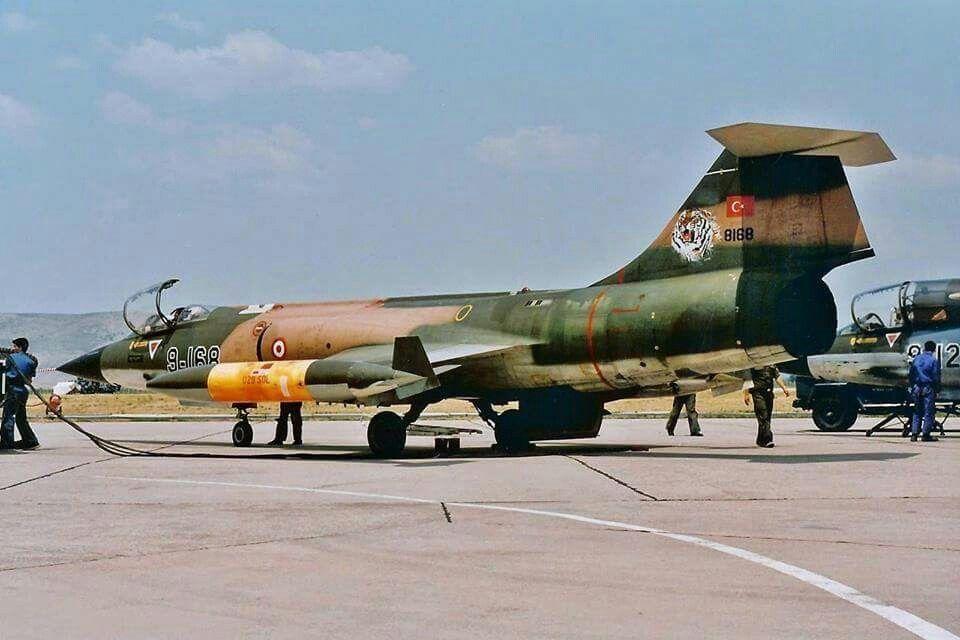 türk hava kuvvetleri f104 f-104