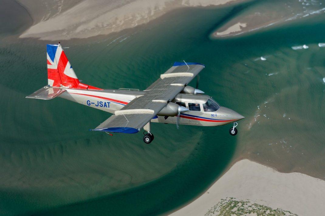 bn2t islander uçağı