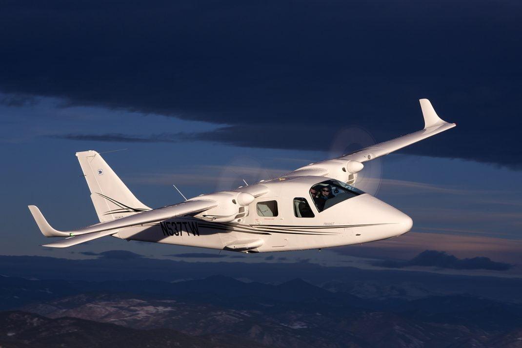 Tecnam P2006 Twin uçağı havacılık