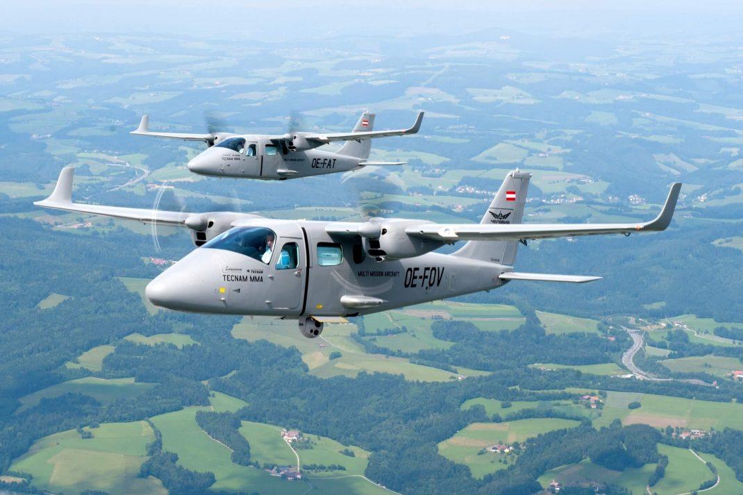 Tecnam P2006 Twin çift motorlu uçakları havacılık