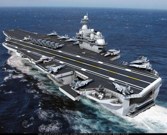 yerli milli turk ucak gemisi projesi