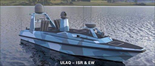 ulaq silahlı insansız deniz aracı