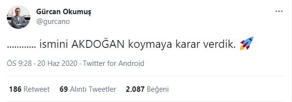 akdogan fuzesi tubitak sage gurcan okumus