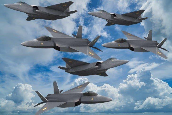 hindistan hal amca hava kuvvetleri 5 nesil savas ucagi