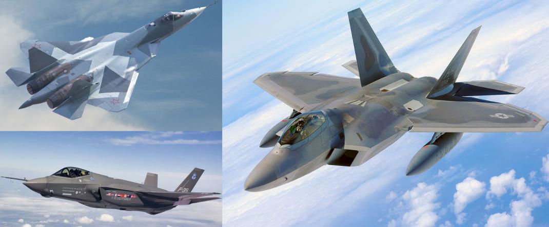 f-22 vs f-35 vs s-57 vs f-22 karsilastirma savas ucaklari