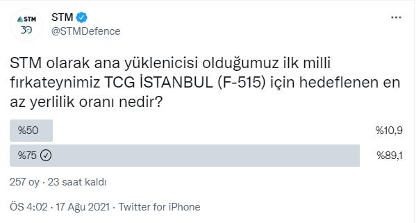 stmnin i sinifi firkateyn paylasimi twitter f 515 tcg istanbul istif
