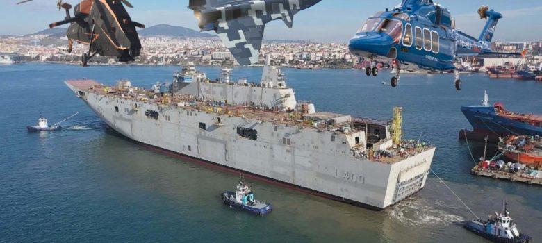 tcg anadolu tcg trakya donanmanin amiral gemileri