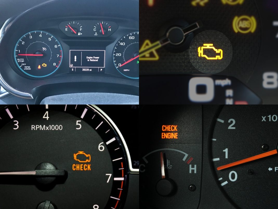 Why Does the Check Engine Light On car cars automotive
